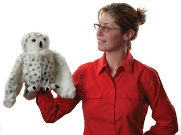 Echo the Snowy Owl Puppet