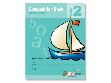 Fundations Composition Book 2 (10-Pack) Second Edition