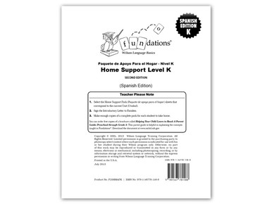 Home Support Pack K (Spanish)