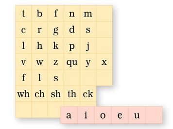 Magnetic Letter Tiles K