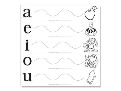Vowel Extension Poster K-1 Second Edition