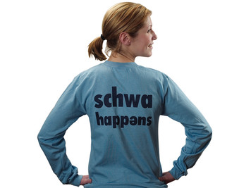 Schwa Happens T-Shirt (L)
