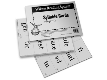 Syllable Cards (Steps 7-12)