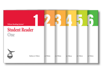 WRS Student Readers 1-6 Set