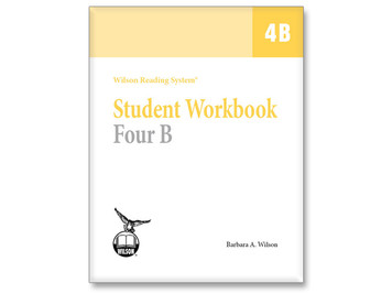 WRS Student Workbook 4 B