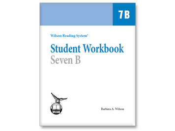 WRS Student Workbook 7 B