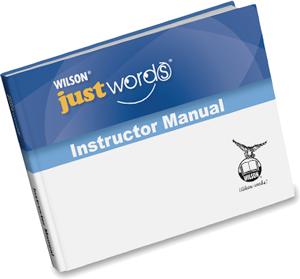 Just Words Teacher Manual