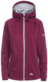 Sisely Womens Windproof Hooded Softshell Jacket