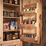 Wall Spice Door Rack
