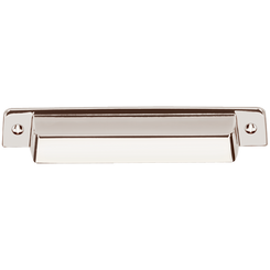 "Merillat Masterpiece® Fordham Bin Pull - Polished Nickel 7/8"" x 6"""