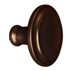 Merillat Masterpiece® Dark Brushed Bronze Simplicity Knob