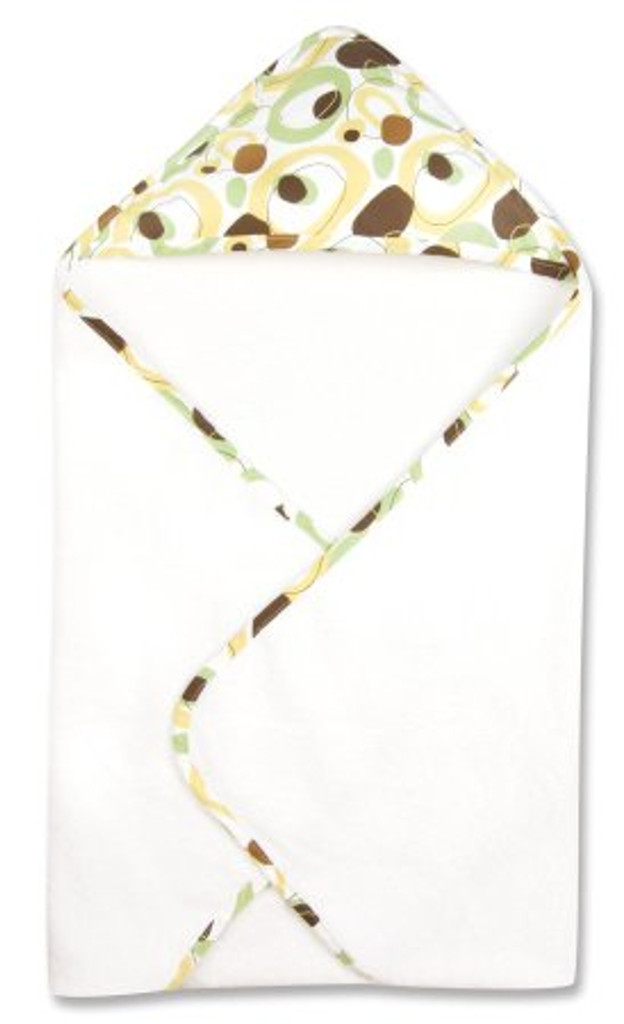Giggles Print Hooded Towel