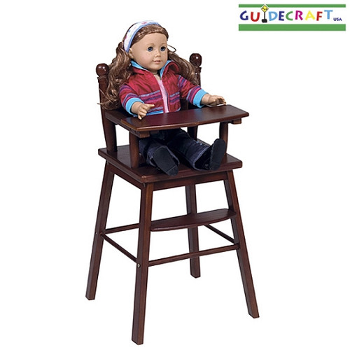 Doll Highchair (Espresso)