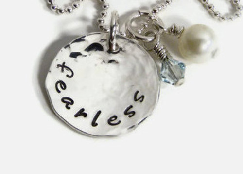 """""""Fearless"""" Necklace"""