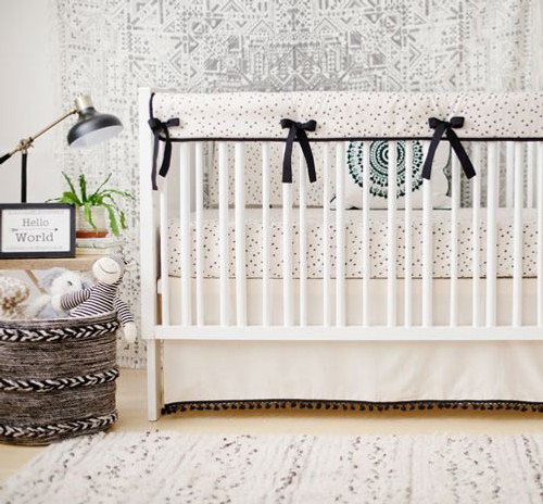 Black Tribal Baby Bedding | This and That Crib Collection