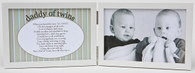 Daddy of Twins Picture Frame