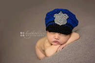 Baby Police Hats (Set of 2)
