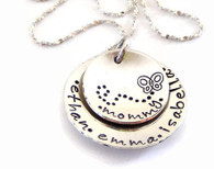 Children's Name Necklace for Mom