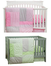 Lily and Lauren 6PC Crib Bedding Set