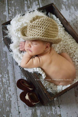 Baby Cowboy Hats and Boots Sets (2 Sets)