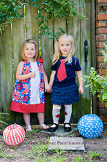 Twins Matching Red White and Blue Set