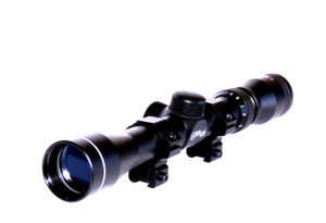 Promotional Heavy Duty Rifle Scope with Rings - CS22-3932RR