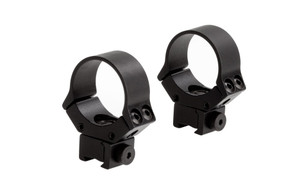 Adjustable Airgun Rings & Ring/Base Combos - 30mm Low-11mm Base - SM0130