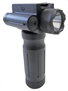 Tactical Fore End Grip w/750 Lumen Red Laser - CL-FLR