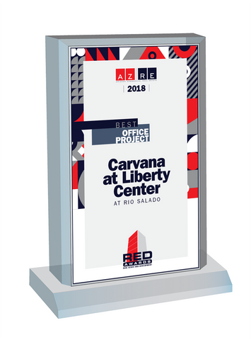 2018 RED Awards Plaque Desktop Marquee.  Plaque will include the Category Designation and Winning Company Name or Honorable Mention Company Name. If you would like the plaque modified, please note the change in the Comment Box or contact Sara Fregapane @ 602-277-6045.