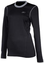 Womens  - Black - Klim Solstice 2.0 Base Layer Top Shirt