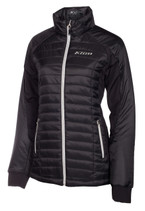 Womens  - Black - Klim Waverly Mid Layer Jacket