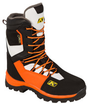 Mens  - Orange Flame - Klim Adrenaline GTX Laced  Boots