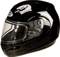 GMax GM44S Modular Solid Dual Lens Snowmobile Helmet