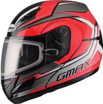 GMax GM44S Modular Glacier Dual Lens Snowmobile Helmet