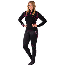 FXR Womens 48% Expedition 1/4 Zip-Up Pullover Base Layer 2017