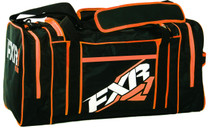 Black/Orange - FXR Duffel Gear Bag 2017
