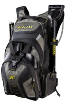 Black/Grey - Klim Krew Pak Snowmobile Back Pack 2017