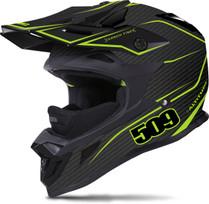 509 Altitude Lime Carbon Fiber Helmet