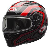 Bell Qualifier Reflective Dual Lens Snowmobile Helmet