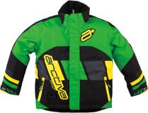 Youth  - Navy Blue/Orange - Arctiva Comp Insulated Jacket