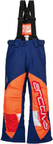 Youth  - Navy Blue/Orange - Arctiva Comp Insulated Bibs