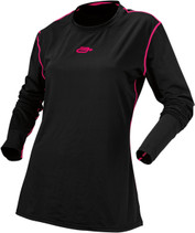 WoBlack/Pink - Arctiva Regulator Mid-Weight Base Layer Top