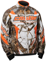 Mens  - AP Snow Orange/White - CastleX Bolt G4 Performance Series Jacket