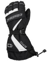 Mens  - White/Black - CastleX Epic  Gloves