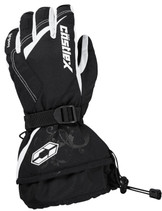 Womens  - White/Black - CastleX Legacy  Gloves