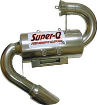 Skinz Polished Ceramic Super-Q Silencer 2003-2005 Polaris Indy 800 Switchback