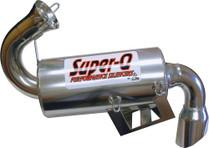 Skinz Polished Ceramic Super-Q Silencer 08-16 Polaris Indy 600 High Output IQ LX