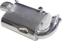 Skinz Polished Ceramic Super-Q Silencer 11-12 Polaris 800 Switchback Assault 144