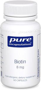 Biotin 8 mg (60 vcaps)