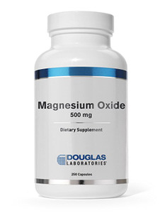 Magnesium Oxide 500mg (250 capsules)